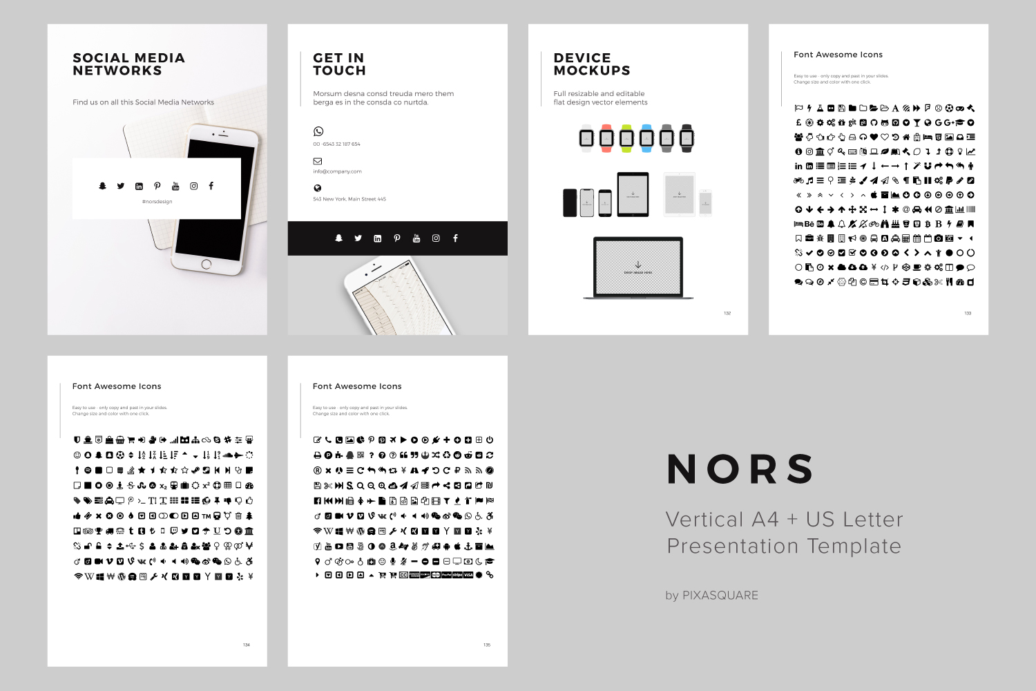 NORS Vertical Keynote + 20 Photos example image 12