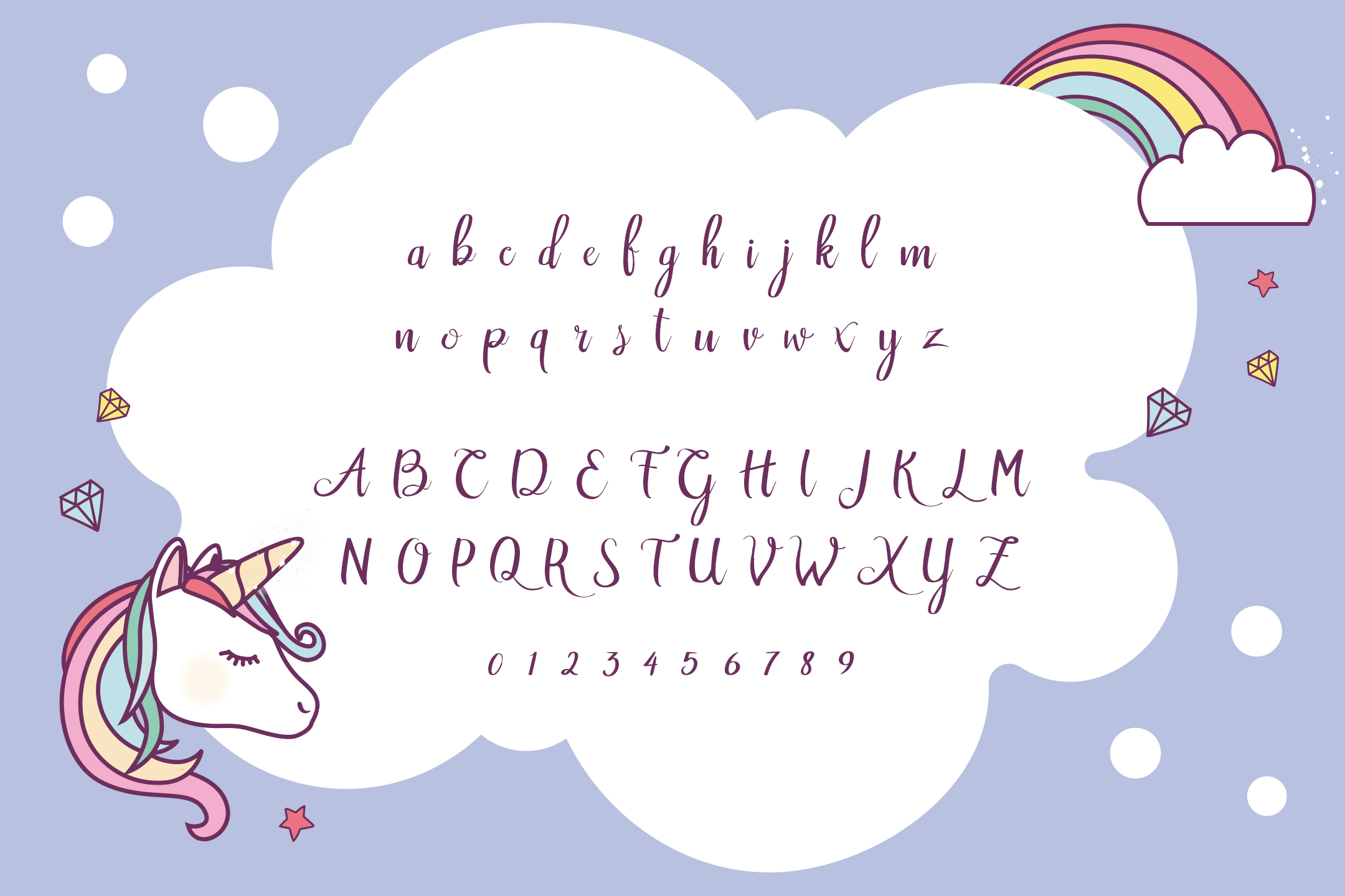 Rainbow Script example image 4