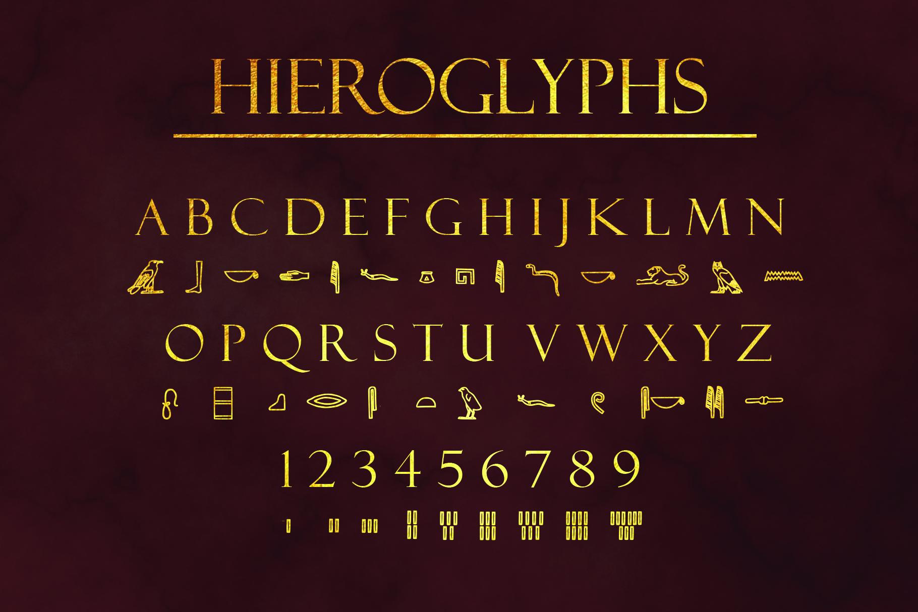 Ancient Languages Typeface Bundle example image 3
