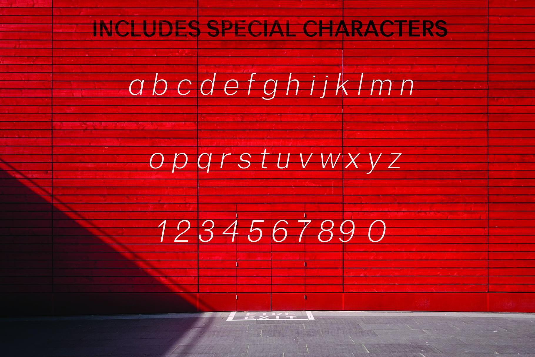 ANASTASIA, A modern typeface example image 4