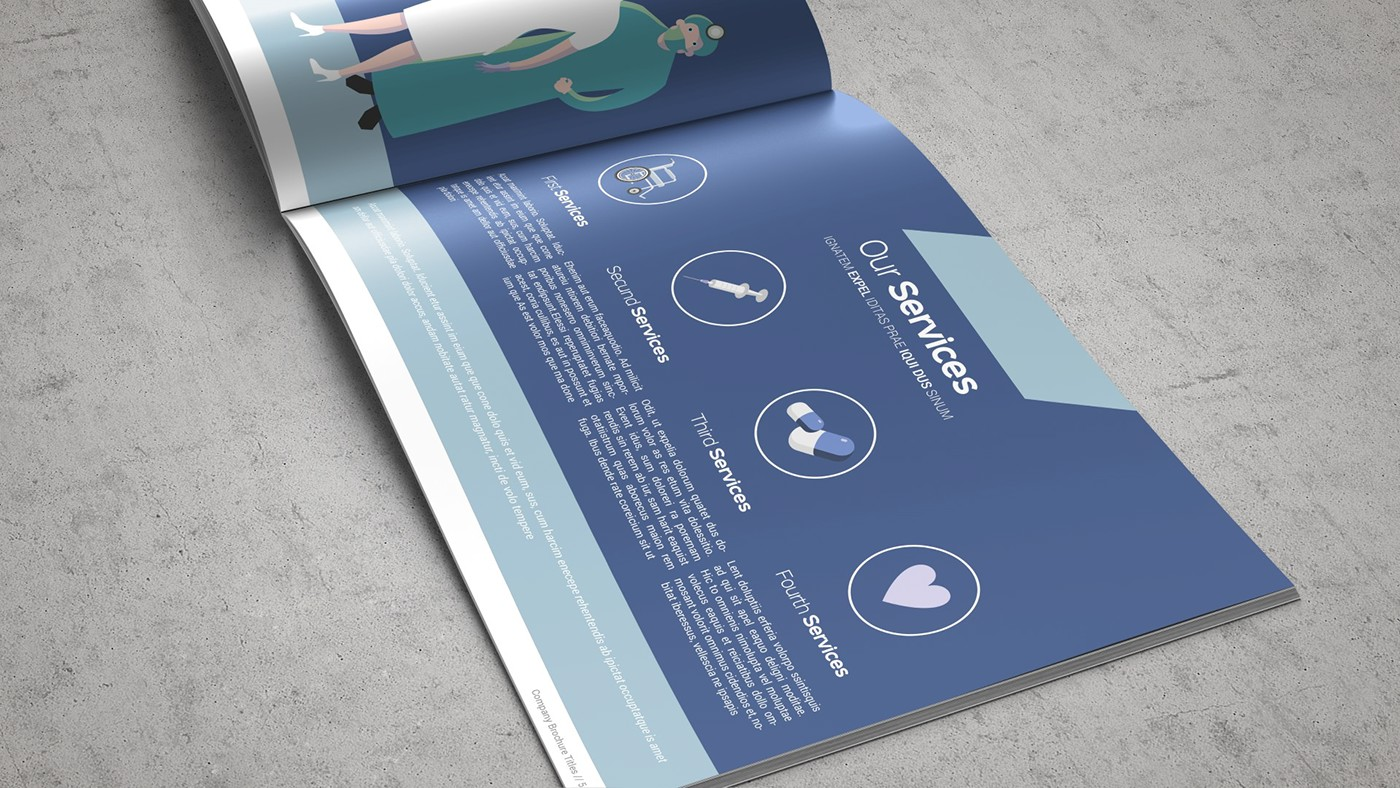 Health & Care Brochure Template example image 13
