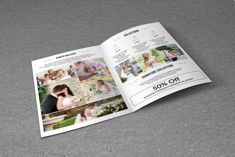 Wedding Photography Brochure example image 4