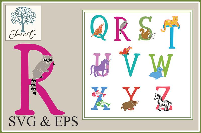 Children's Illustrated Animal Alphabet example image 4
