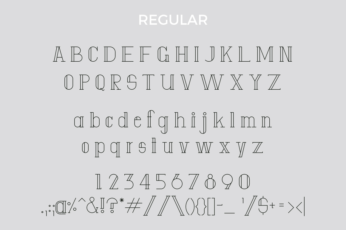 Anatta Display Serif Typeface example image 8