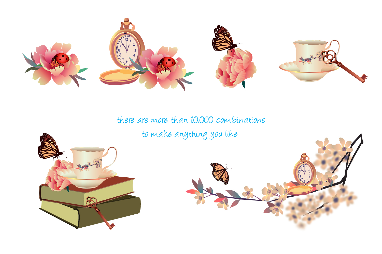 Vintage Spring Collection Set - 60% OFF regular price  example image 6