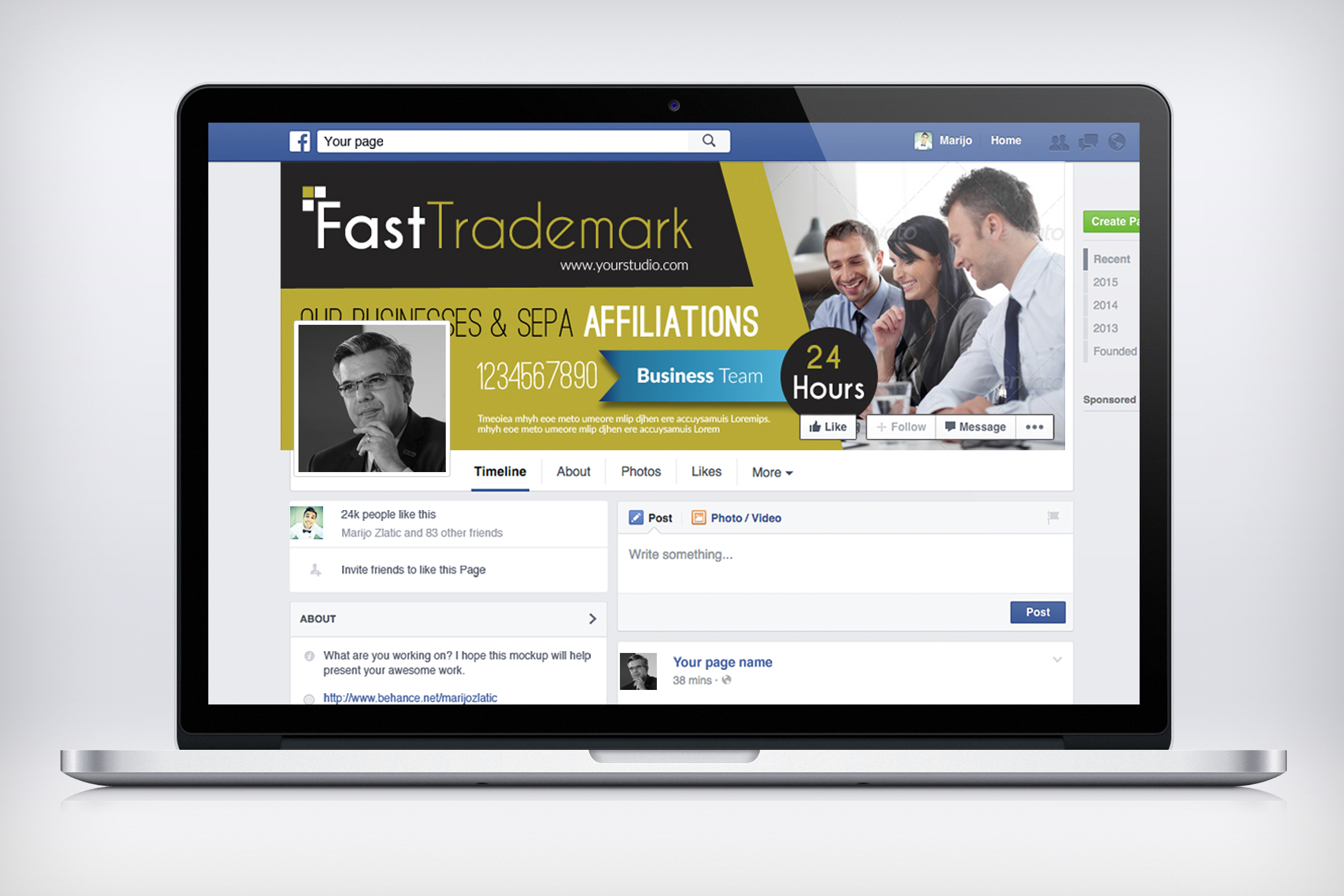 Finance Providing Firm Facebook Timeline example image 2