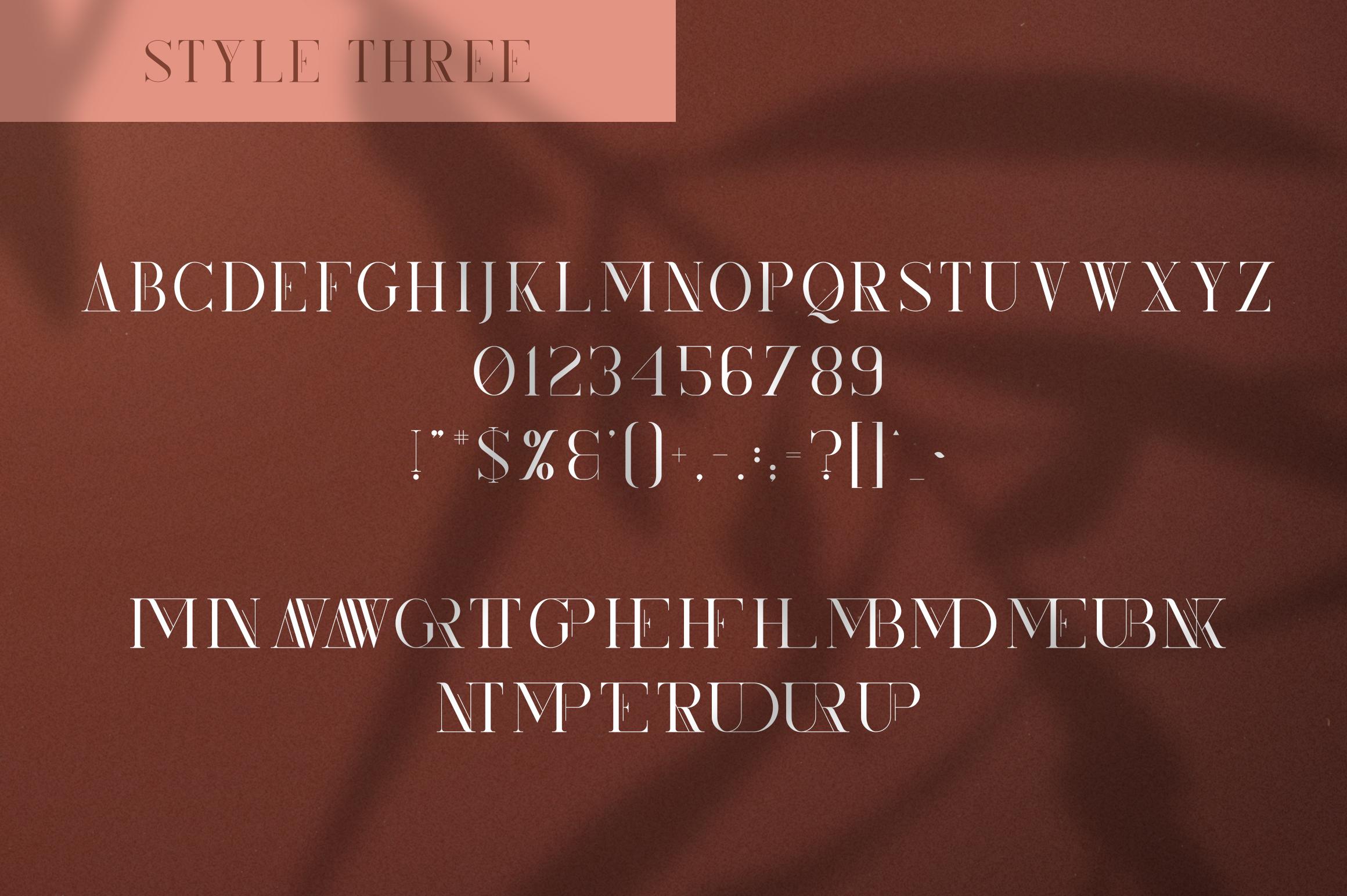 Kindel - Serif Typeface | 4 styles example image 11