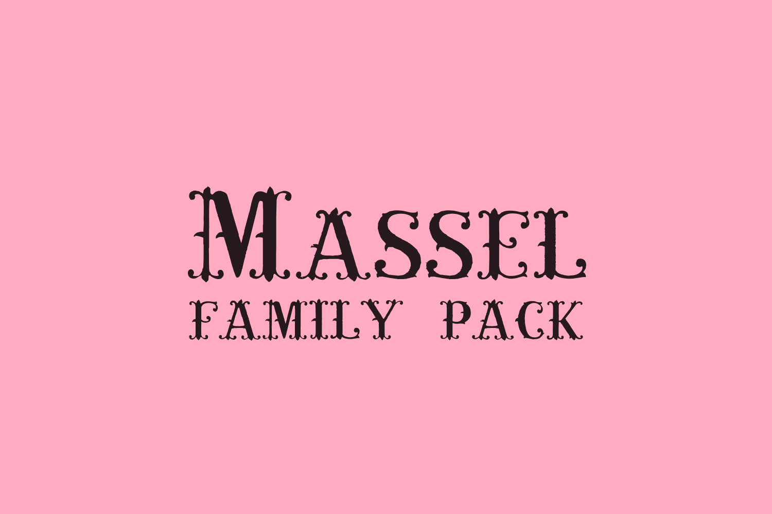 Massel Family PACK example image 2