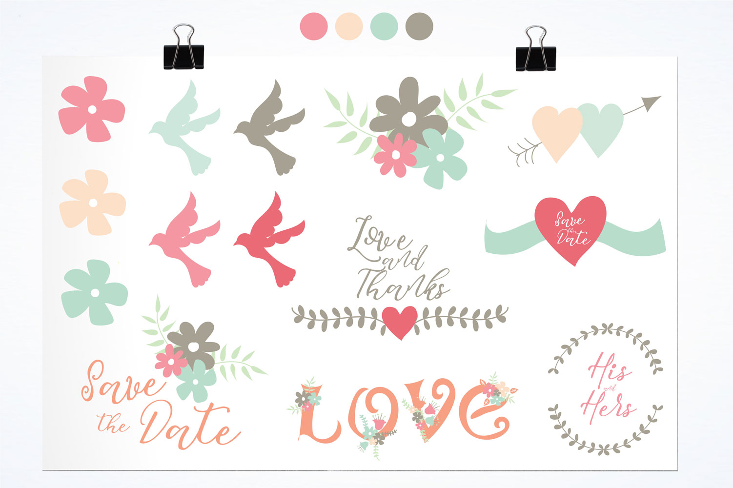 Love Cute Graphics example image 2