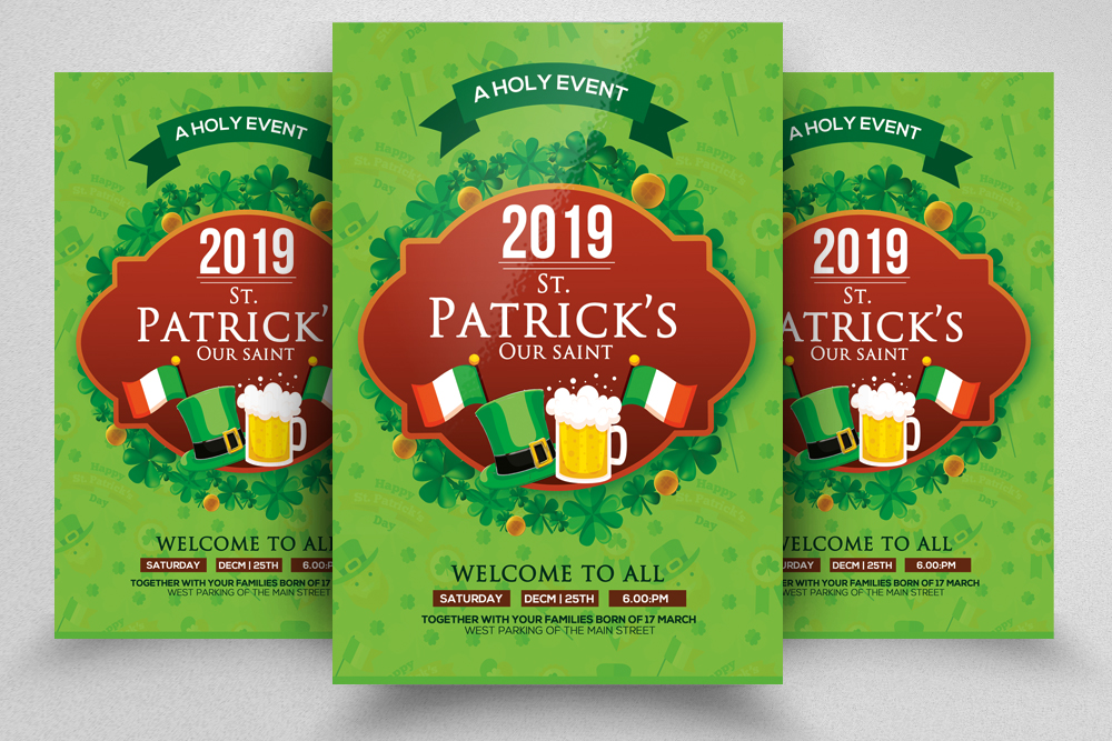 St. Patricks Day Flyer example image 1