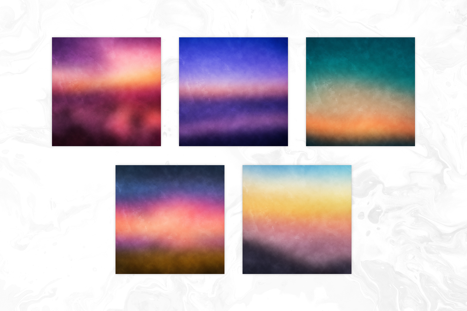 Blur Sunset Grungy Backgrounds example image 3