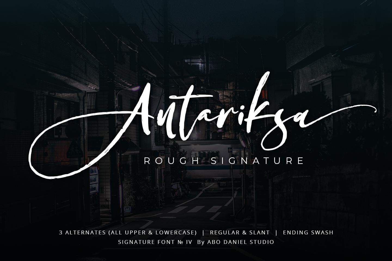 Antariksa -Rough Signature- example image 1