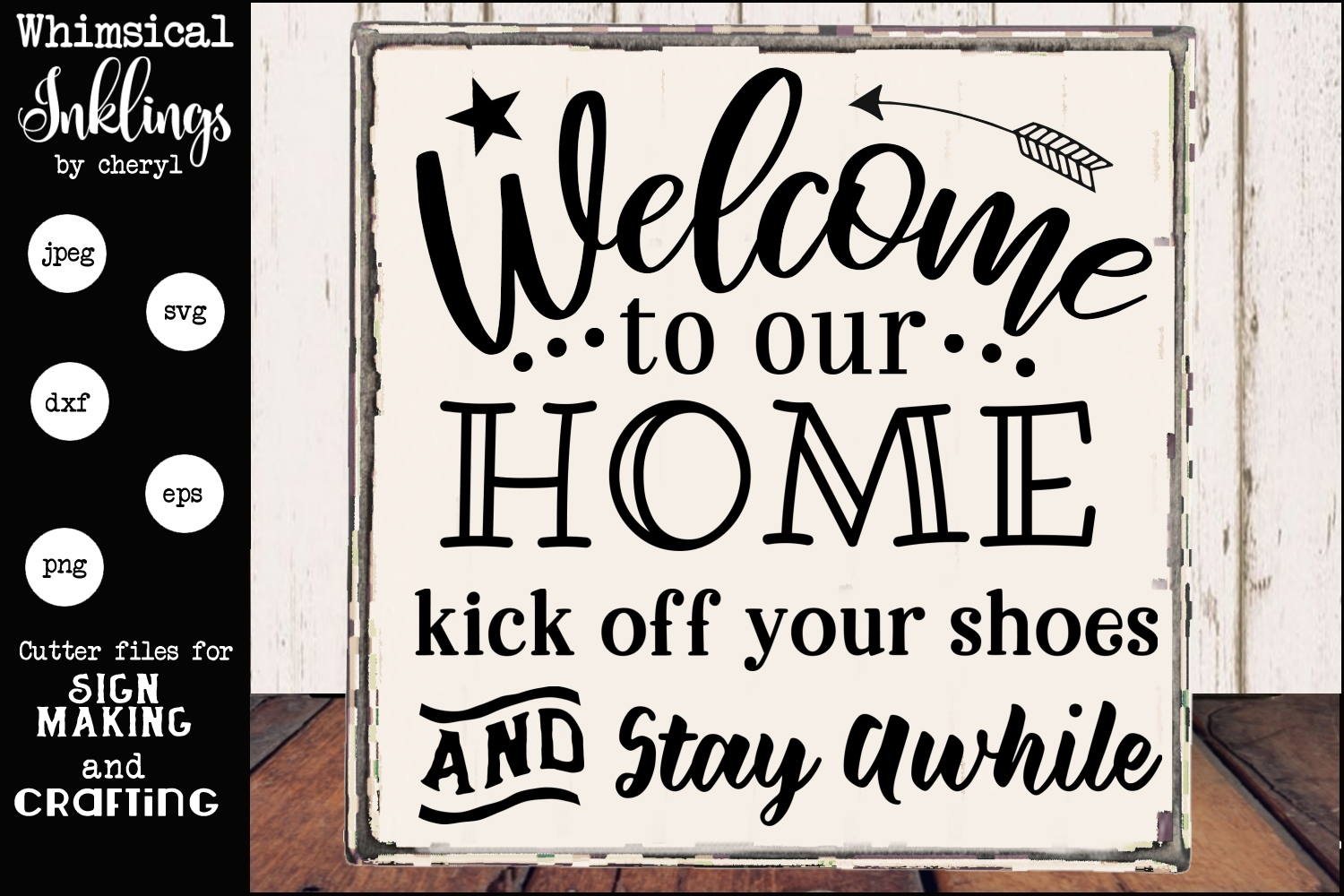 Kick Off Your Shoes-Front Porch SVG example image 1