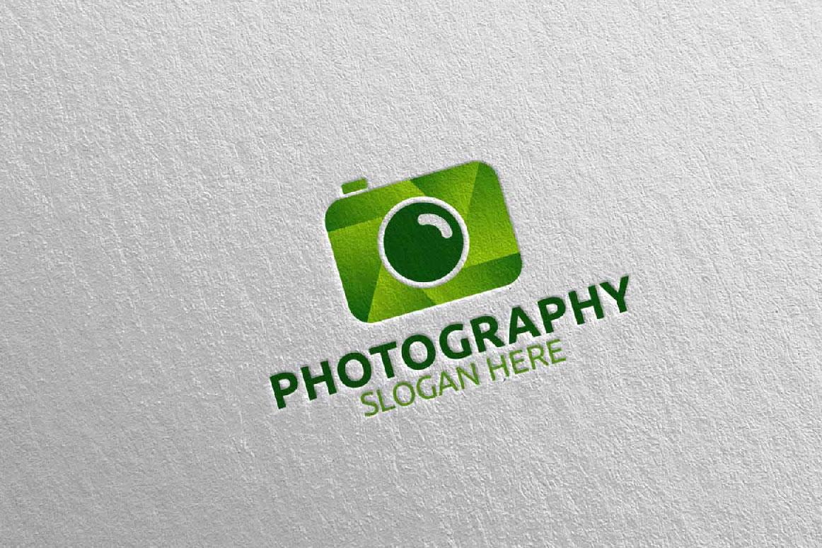 Abstract Camera Photography Logo 9 example image 2