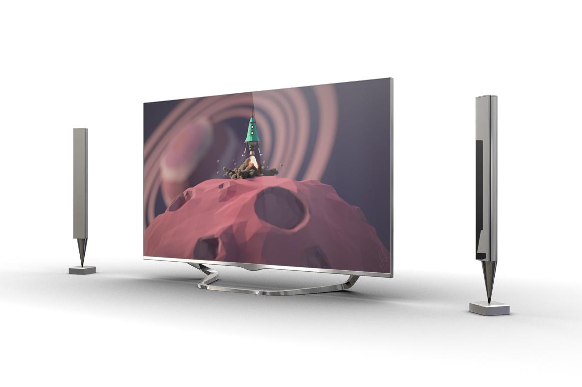 Smart TV Mockup example image 5