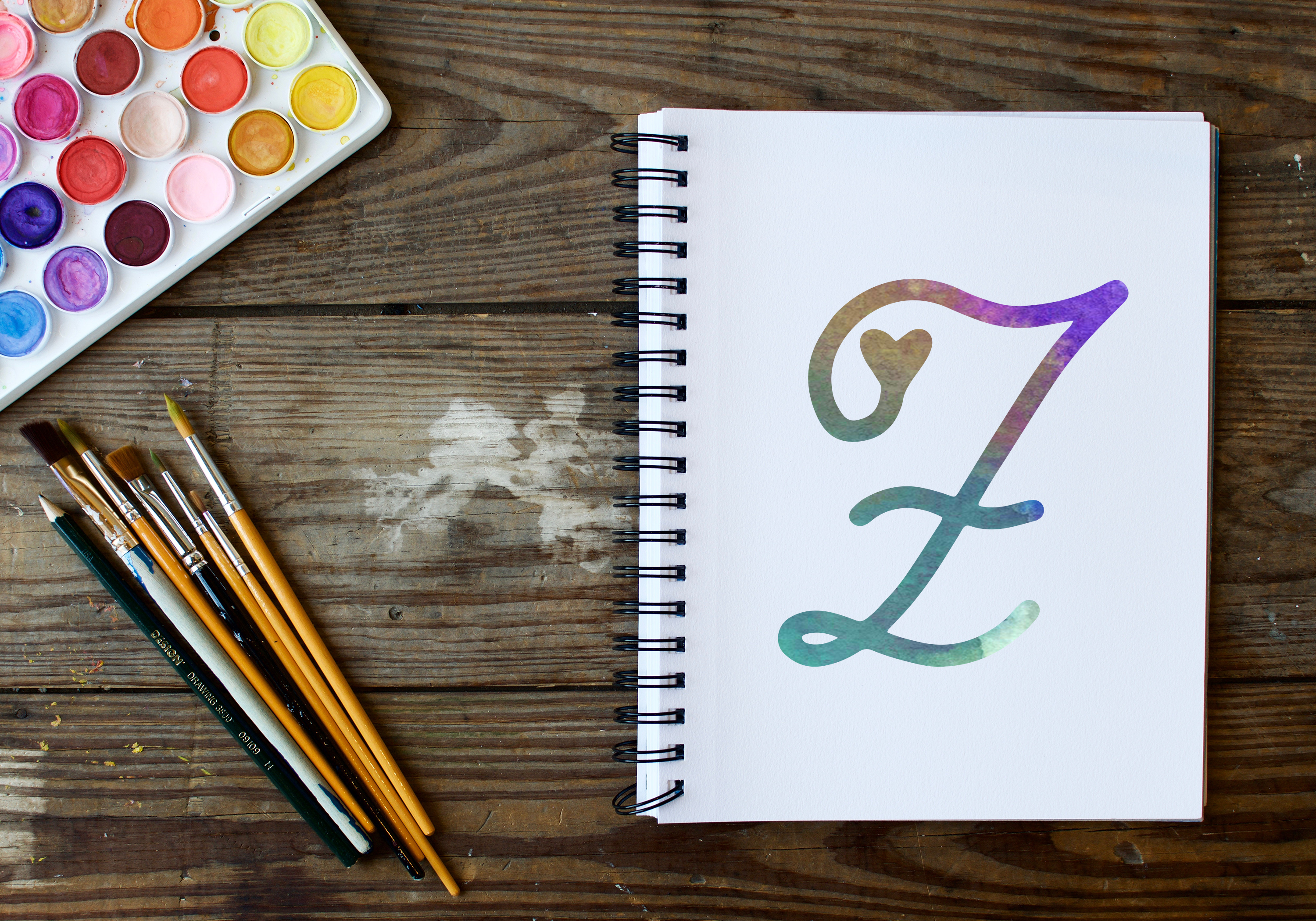 Handwritten Monogram Font - Four Styles example image 15
