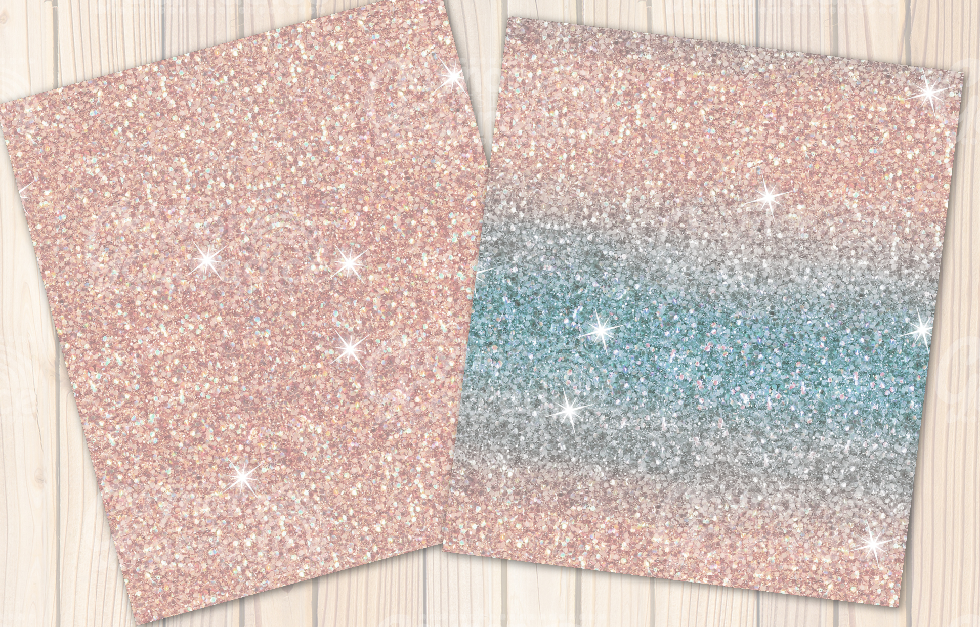 A winters tale - winter Glitter seamless textures example image 6