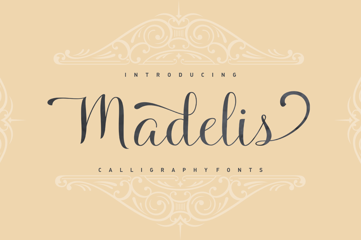 Madelis Script example image 1