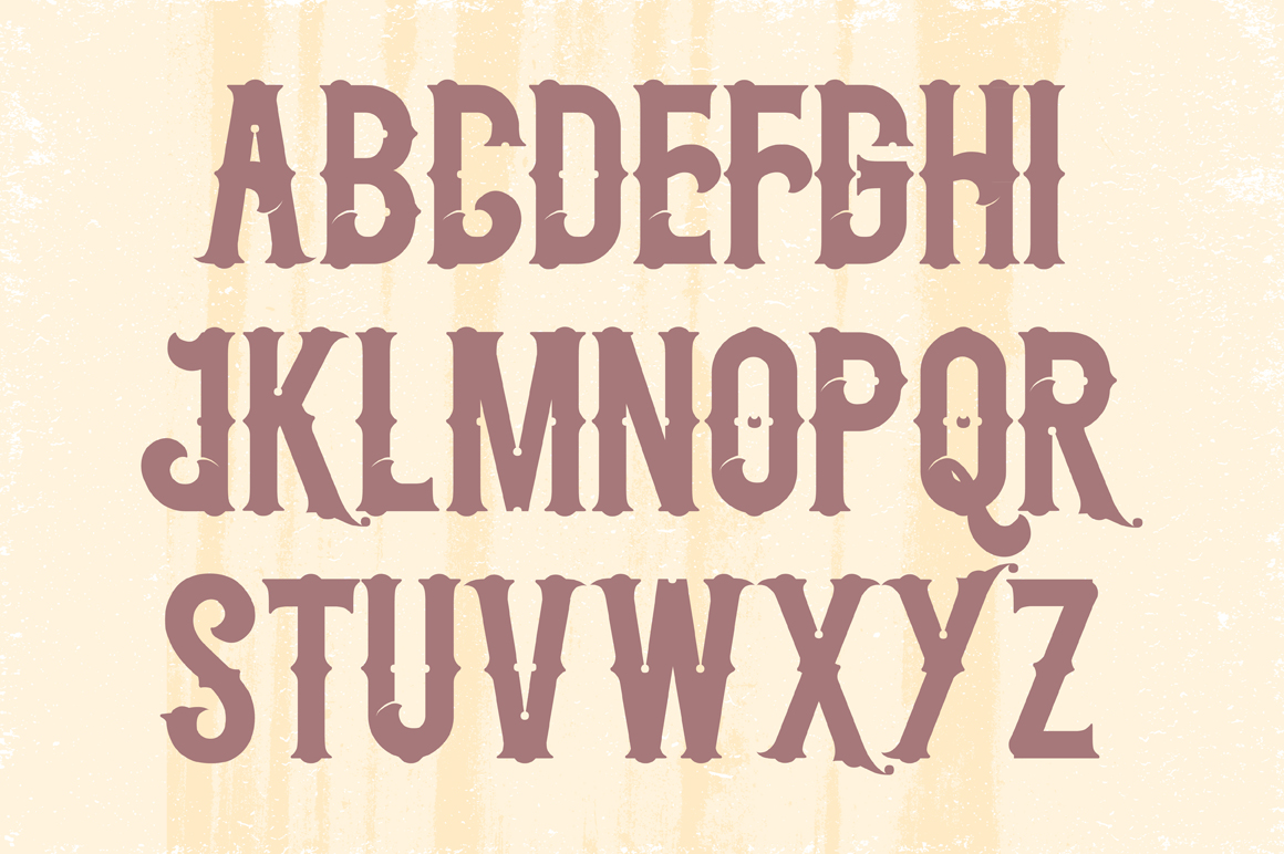 Midnight Show typeface example image 3
