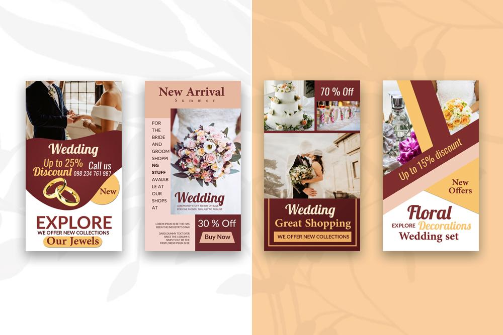 4 Wedding Instagram Stories example image 4