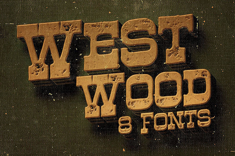 Westwood - Funny Western Font example image 5