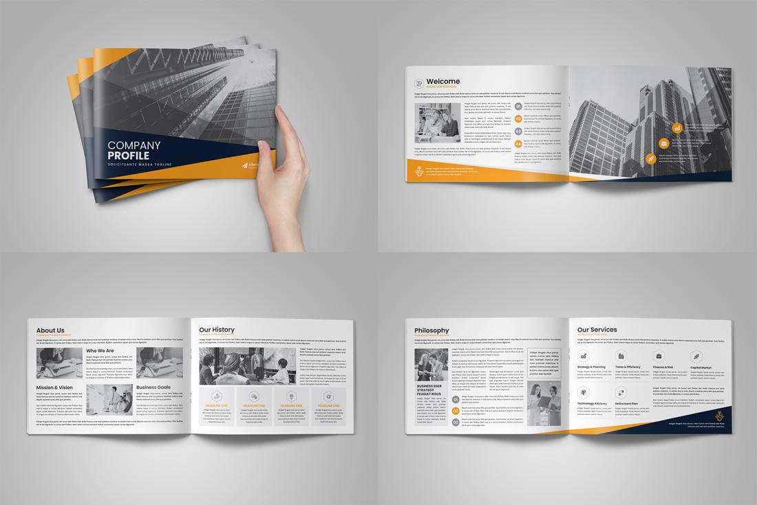 Company Profile Bundle example image 14