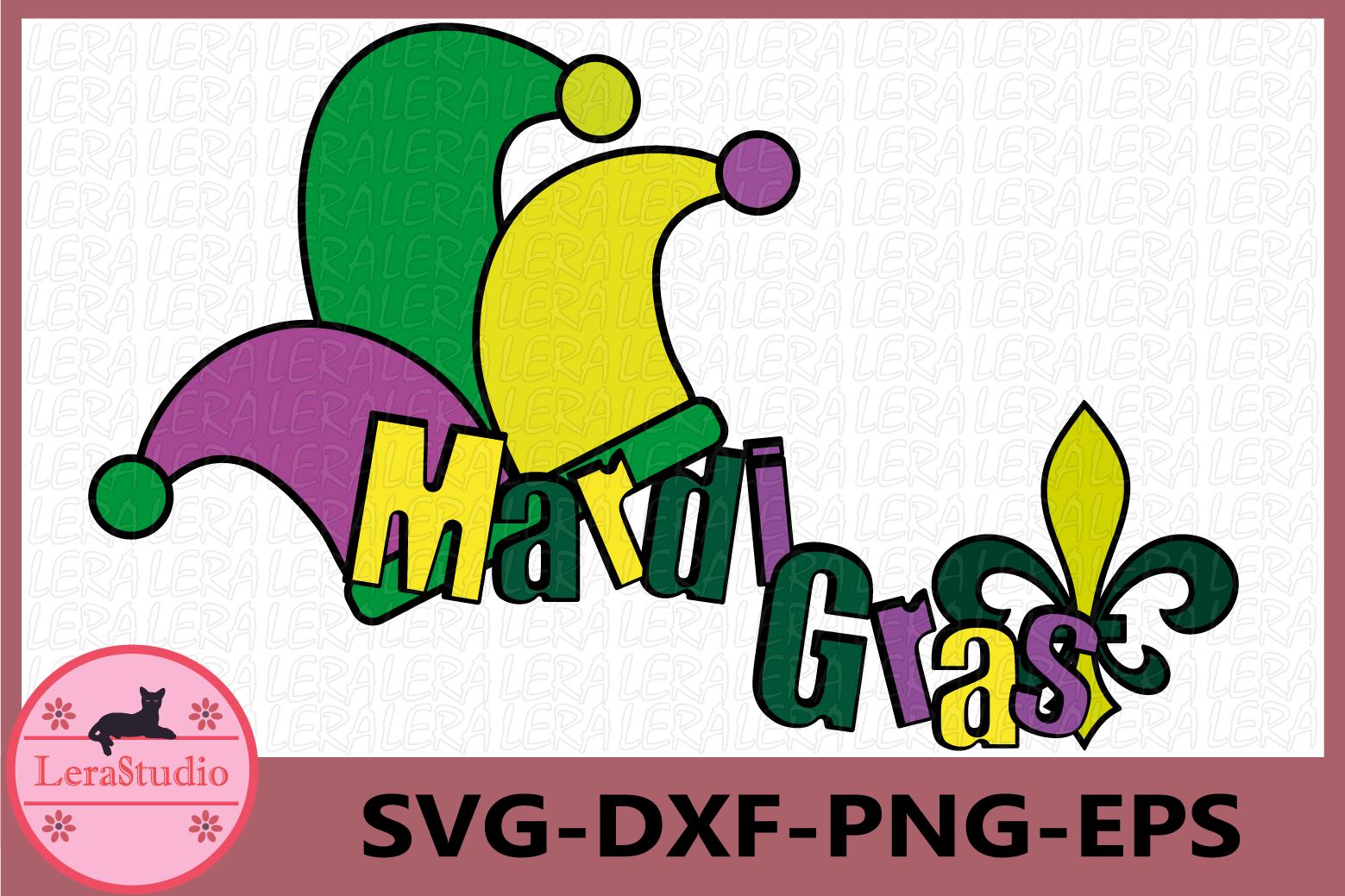 Mardi Gras Svg, Mardi Gras Clip Art, Silhouette example image 1