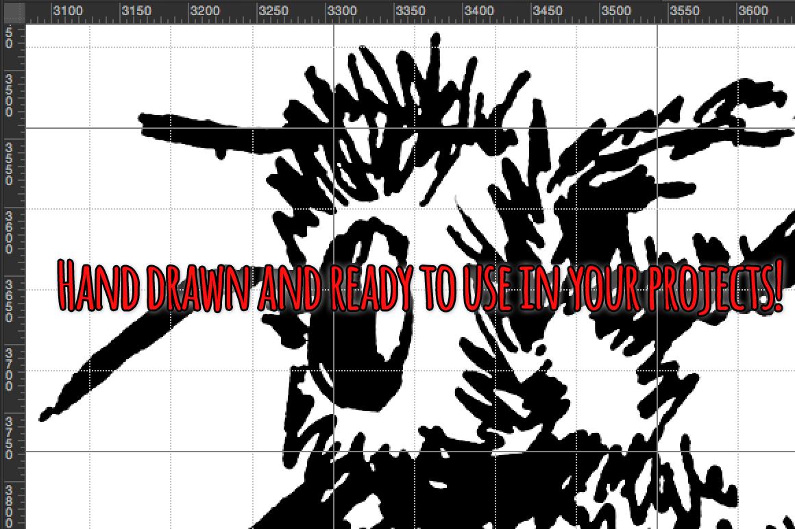 Creepy Crawly Bugs Vector Sketchbook Graphics example image 4