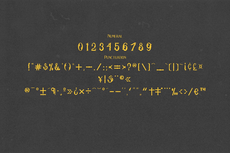 Hukiran Victorian Font example image 7