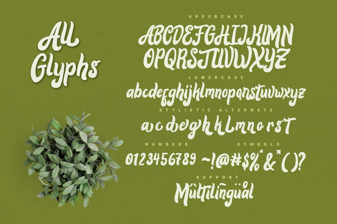 Alora Typeface example image 6