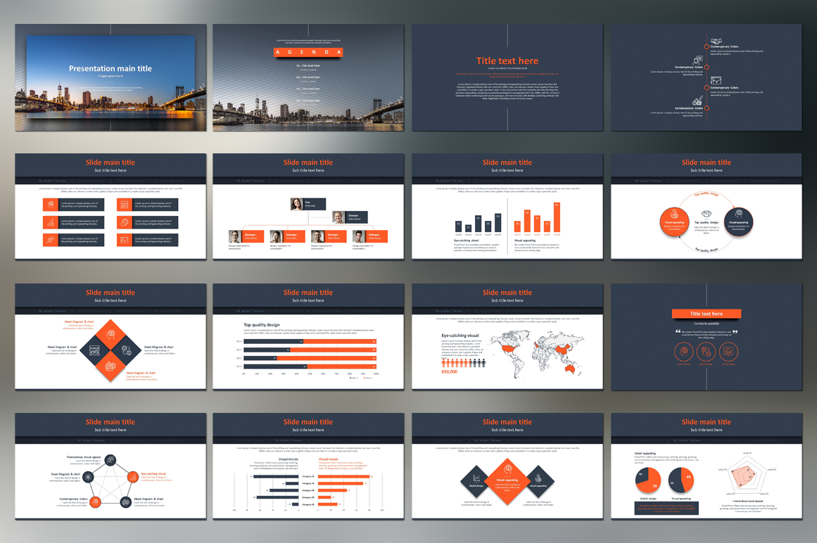 Finance PPT Template example image 2