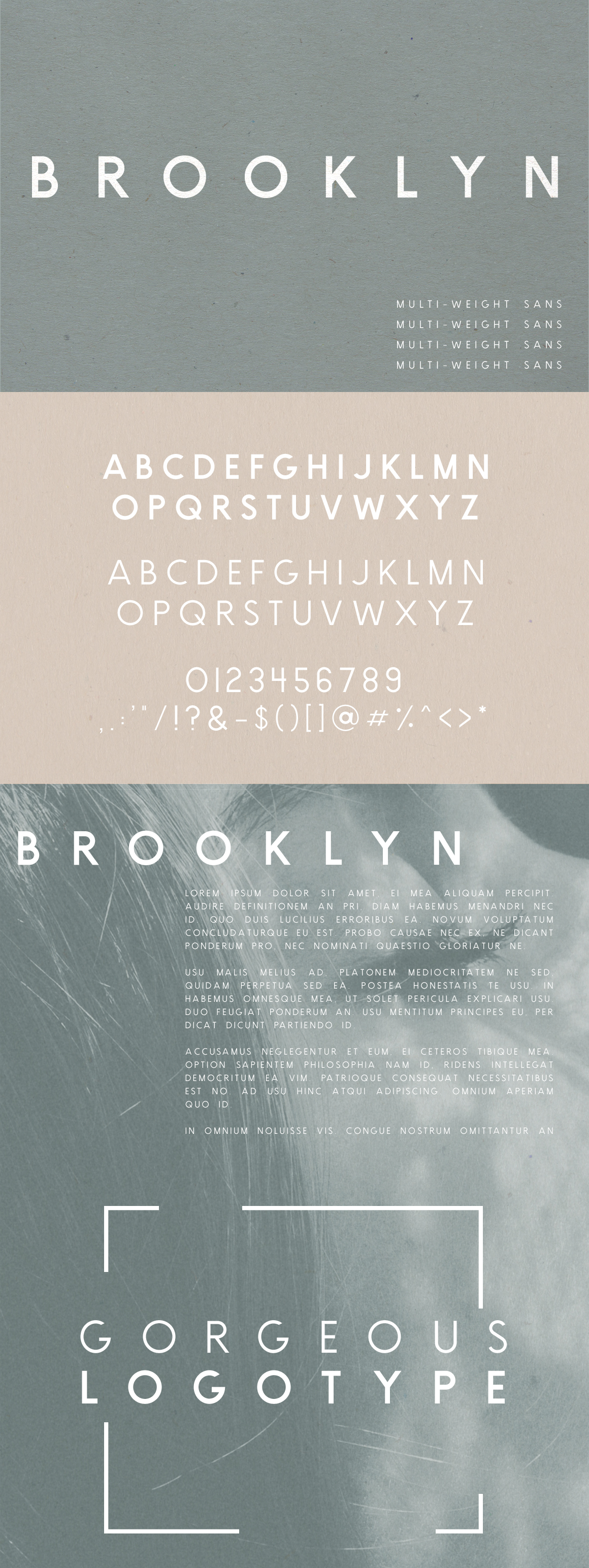 Brooklyn | Two Weight Font Family example image 5