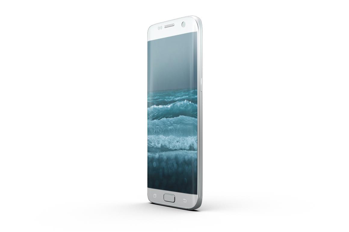 Samsung Galaxy S7 Edge Mockup example image 3