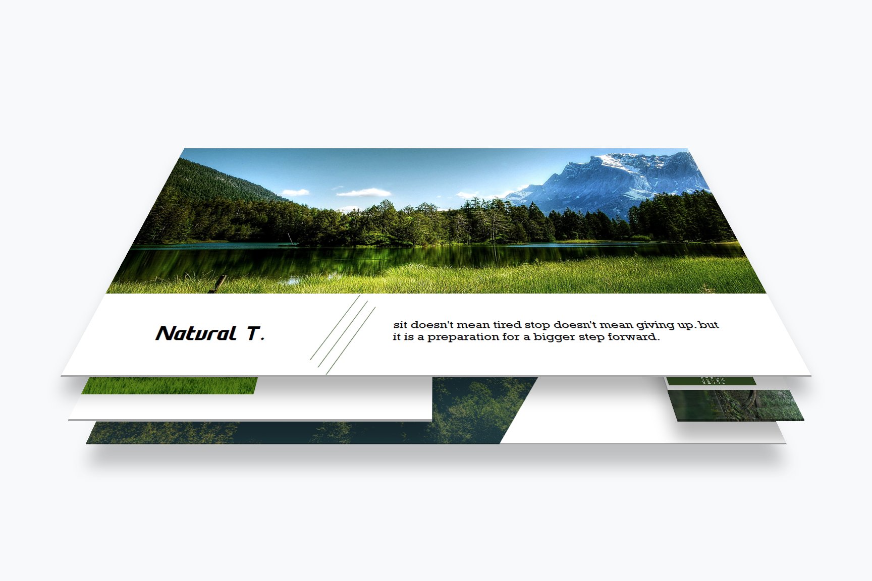 Nature PowerPoint Presentations example image 3