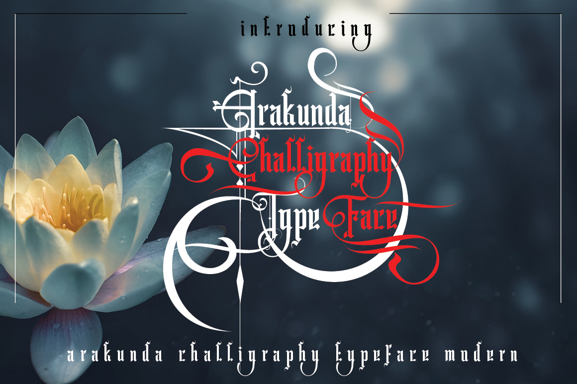 Arakunda Challiraphy example image 1