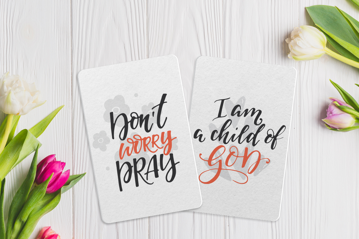 Bible lettering PACK example image 7