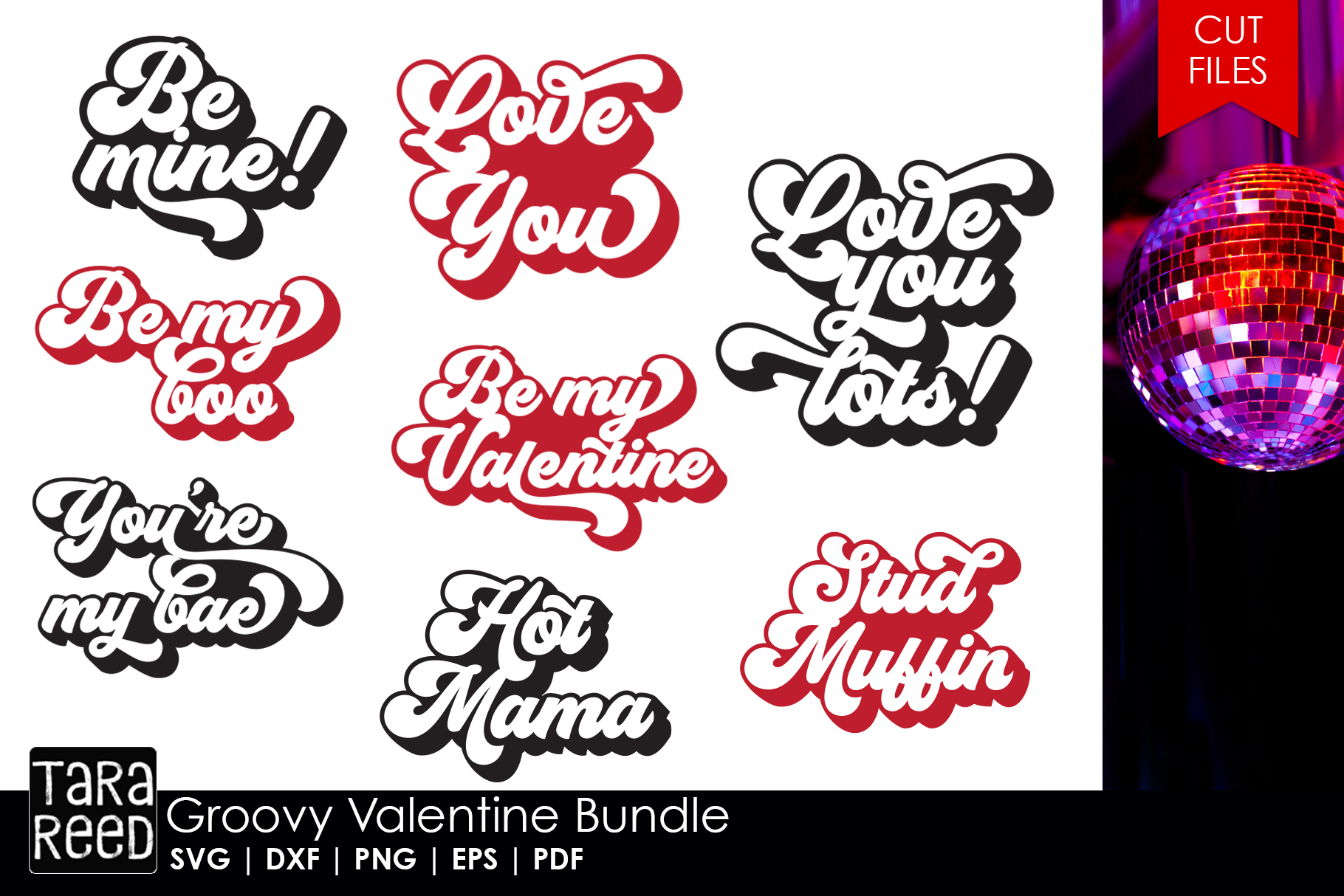 Valentines Day MEGA Bundle - SVG and Cut Files for Crafters example image 5