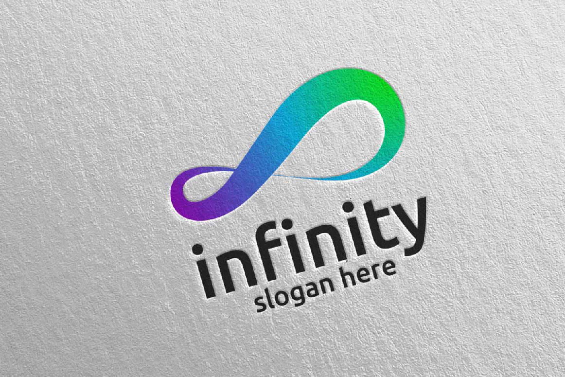 Infinity loop logo Design 28 example image 5