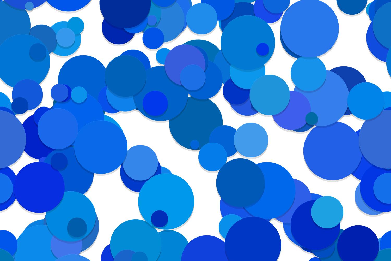 40 Seamless Circle Backgrounds (AI, EPS, JPG 5000x5000) example image 5