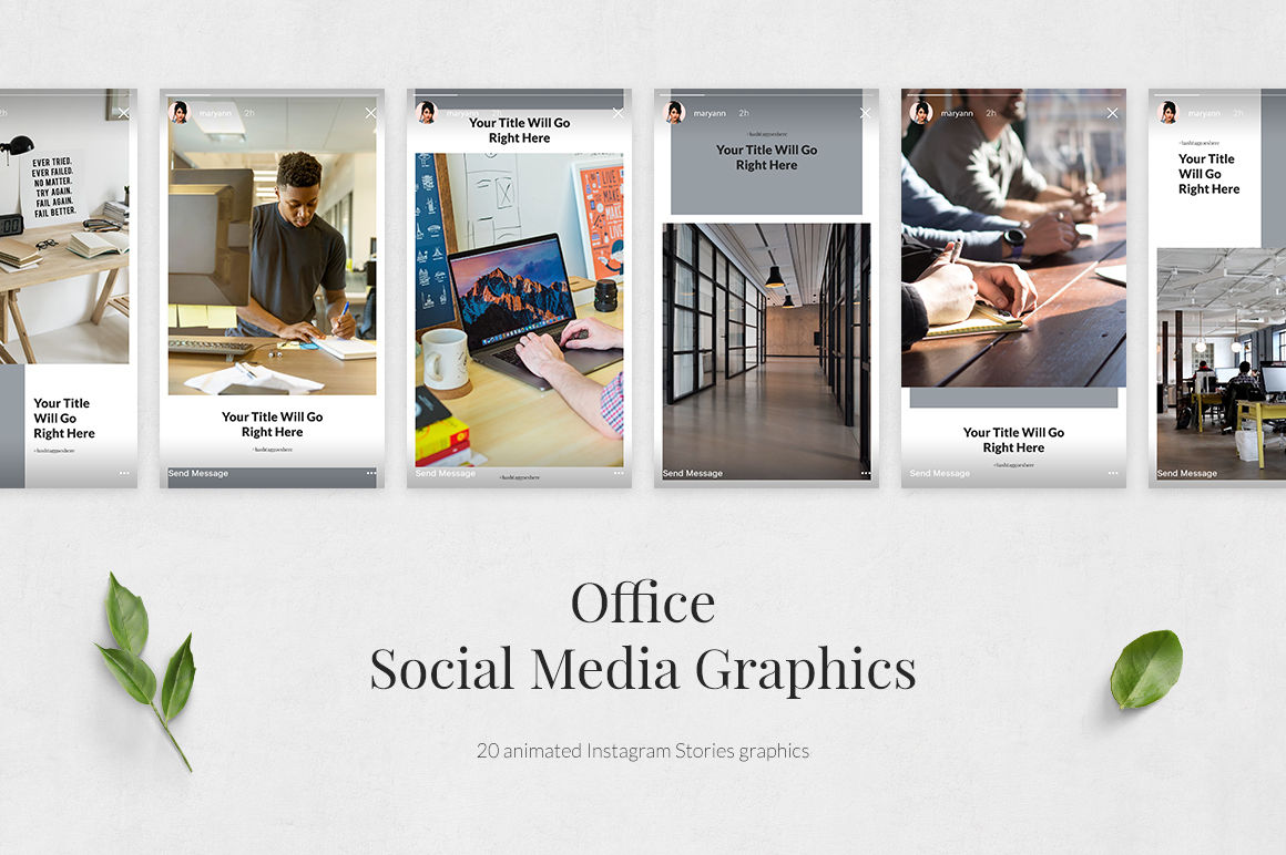 Office Animated Instagram Stories example image 2