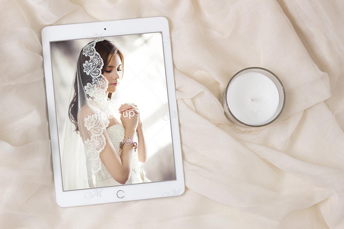iPad Mock-up, PSD & JPEG, Smart object example image 2