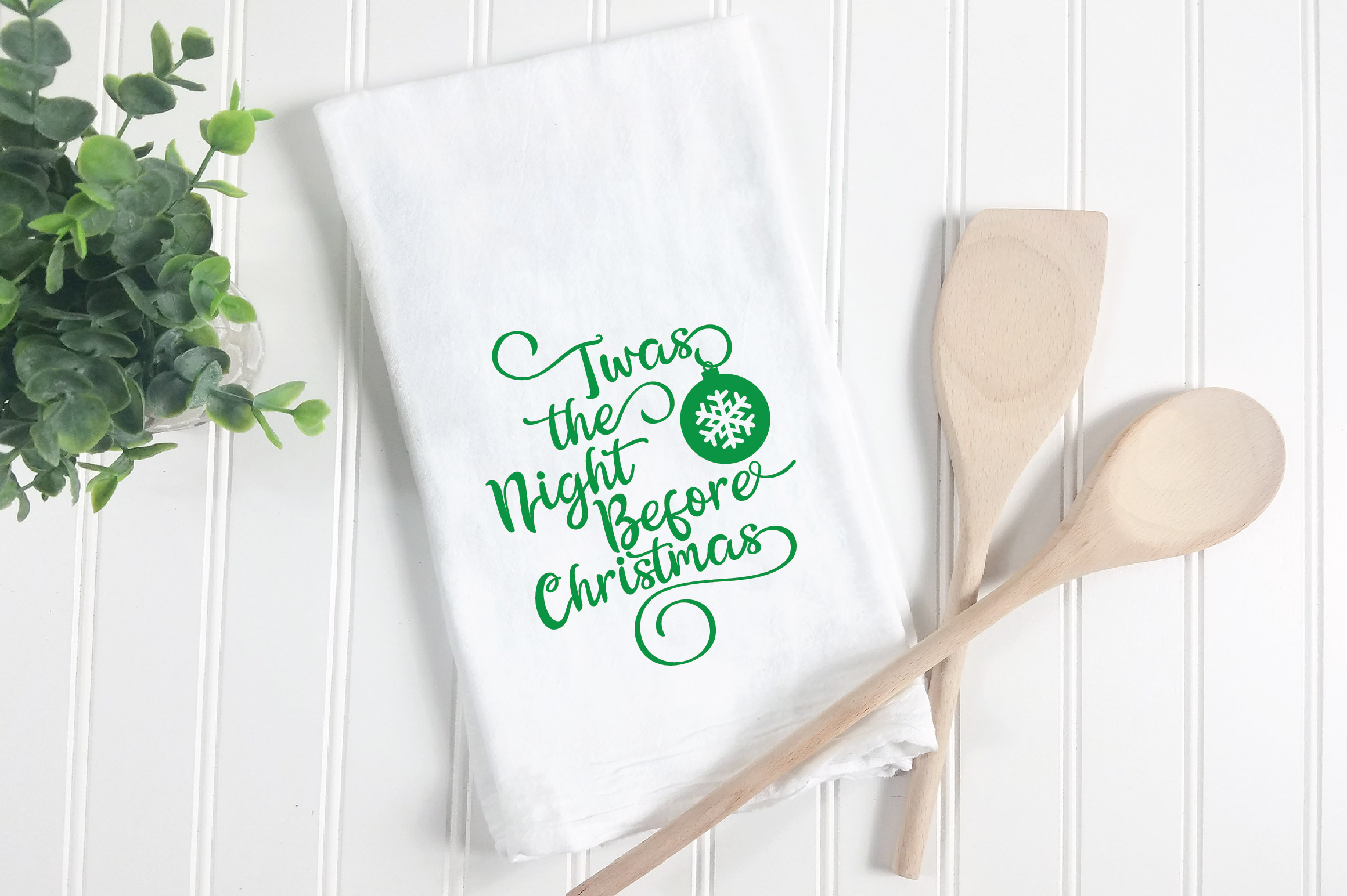 Christmas SVG Cut File - The Night Before Christmas SVG DXF example image 3