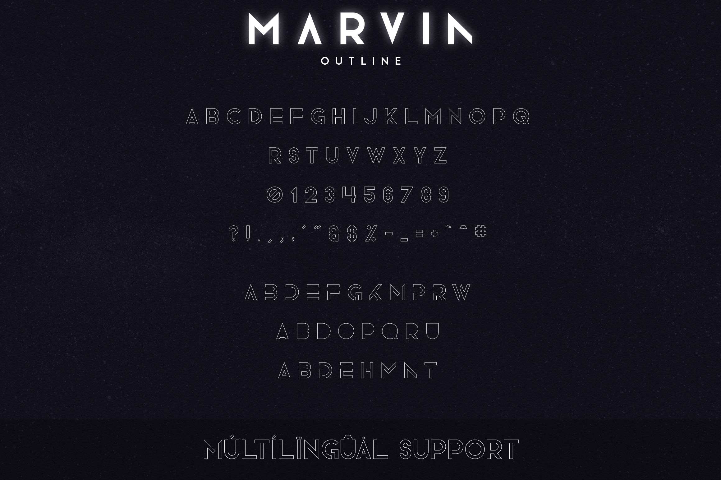 Marvin - 3 font styles example image 10