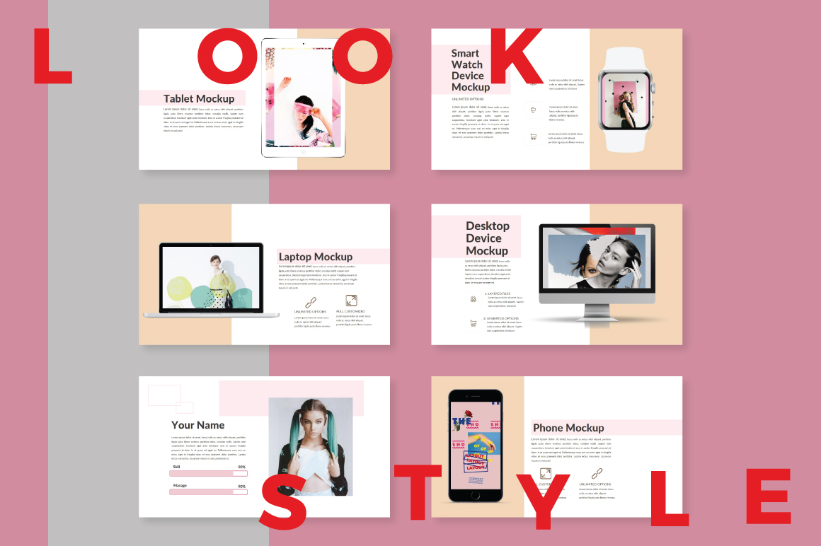 LookStyle Powerpoint Template example image 4