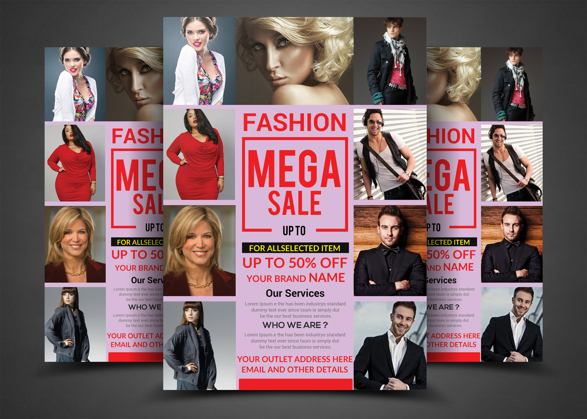 Fashion Sales Flyers example image 1