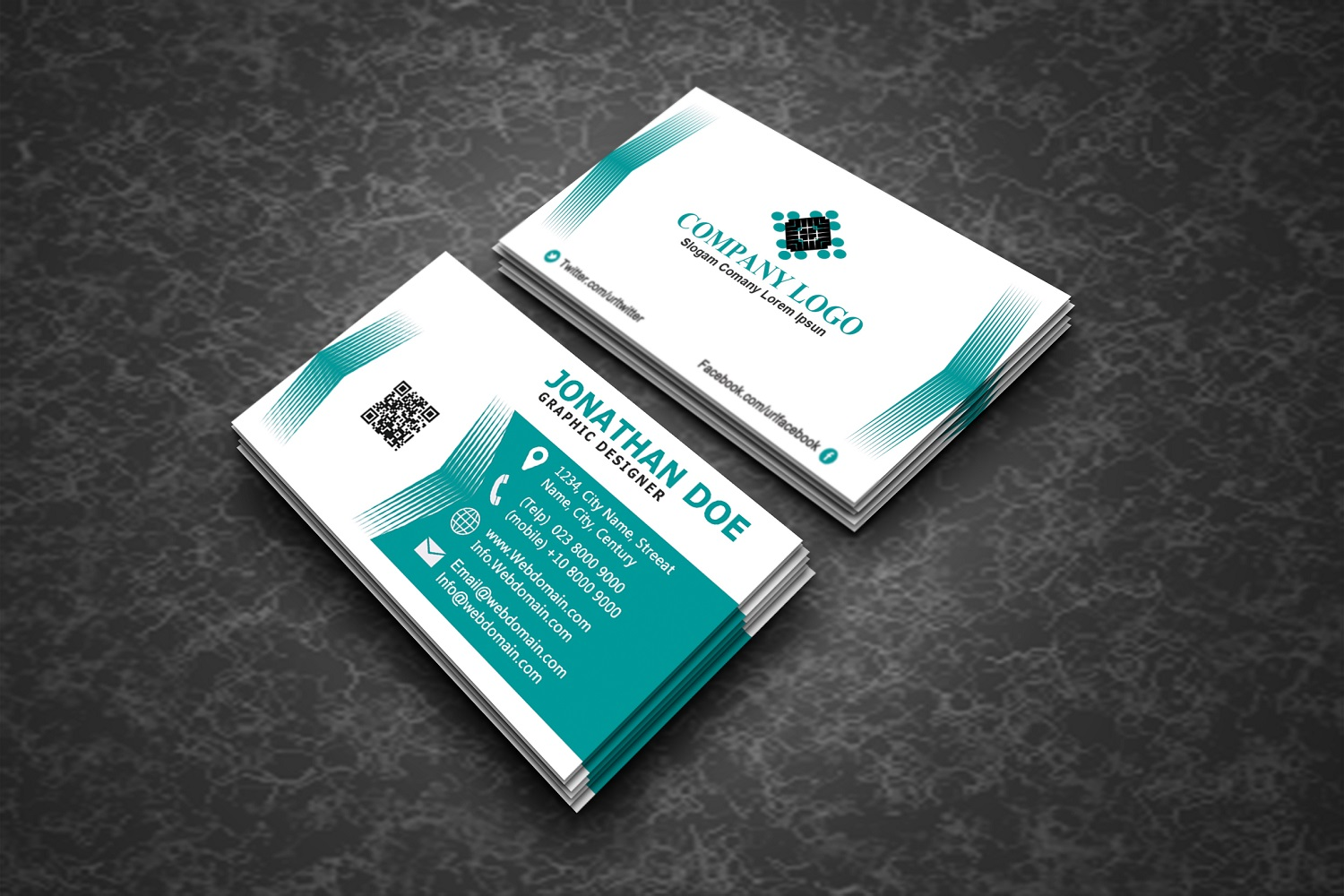 Modern Business Cards example image 5