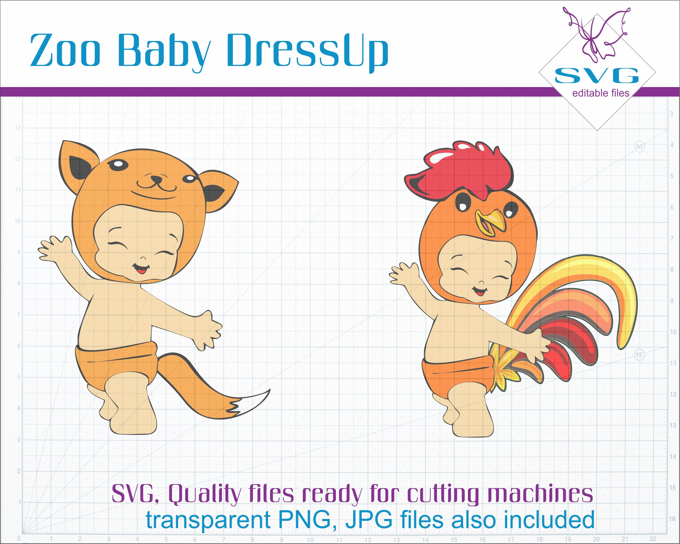 Zoo Baby Dressup example image 4