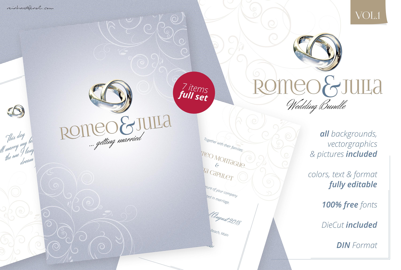 Romeo & Julia - Wedding Bundle Vol.1 example image 1