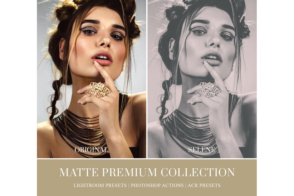 MATTE LIGHTROOM PRESETS, PHOTOSHOP ACTIONS AND ACR PRESETS example image 4