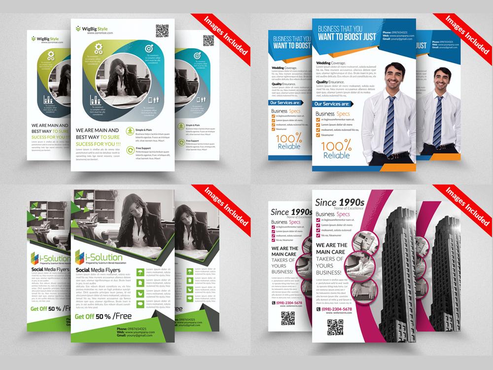 10 Professional Multi Use Business Flyer Bundle example image 3